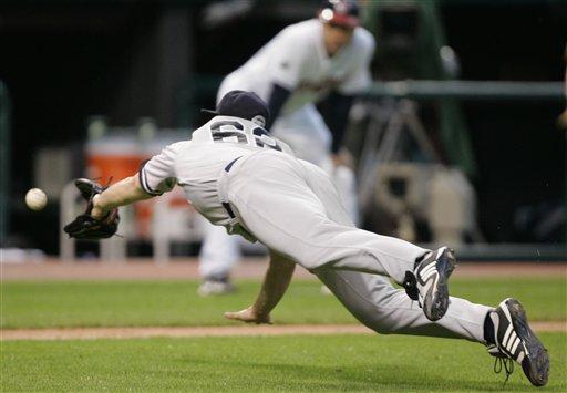 Yankees Indians Baseball