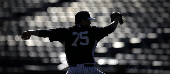 Trenton's Game One starter. (AP Photo/Matt Slocum)