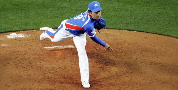 Yoon during the 2009 World Baseball Classic. (Presswire)