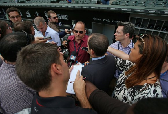 Mr. Cashman, why can't you force other teams to trade you their best players? (Jonathan Daniel/Getty Images)