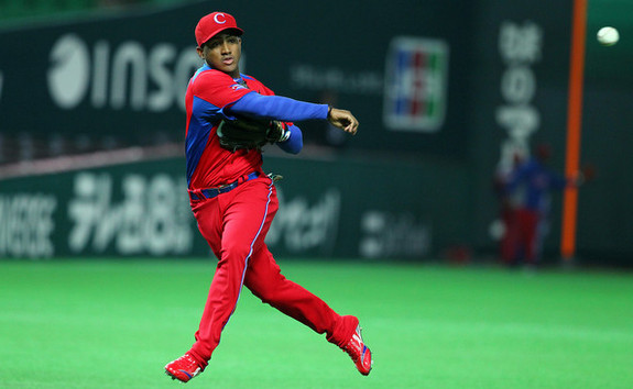 Ibanez at the 2013 World Baseball Classic. (Koji Watanabe/Getty)