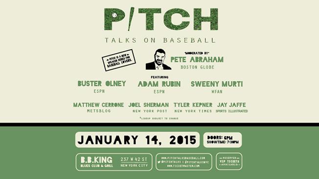 Pitch Talks at BB Kings