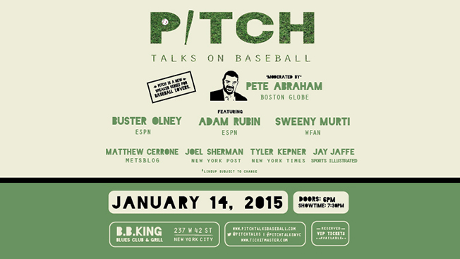 Pitch Talks at BB Kings