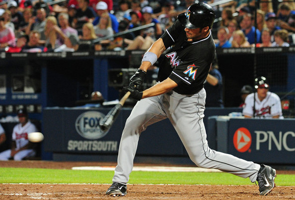 Jones is a weapon against low pitches. (Scott Cunningham/Getty)