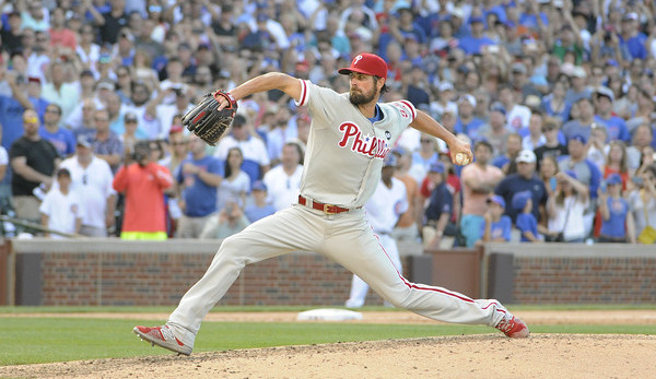 Hamels. (David Banks/Getty)