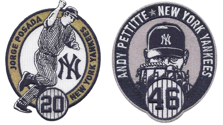Jorge Posada Andy Pettitte patch
