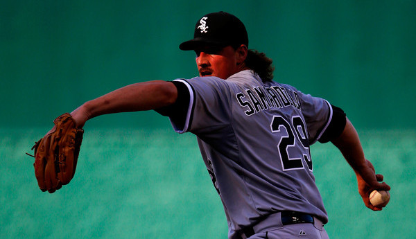 Samardzija. (Jamie Squire/Getty)