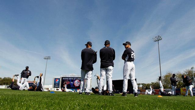 Baseball's comin'. (Presswire)