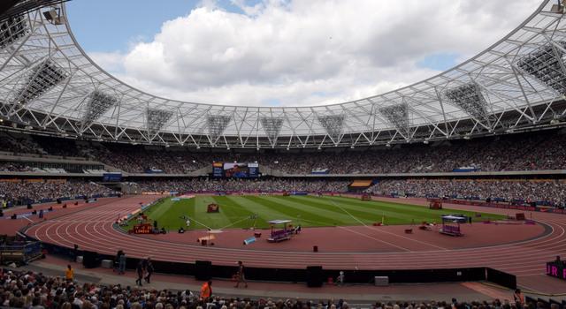 Olympic Stadium in London. (Presswire)