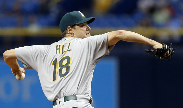 Hill. (Brian Blanco/Getty)