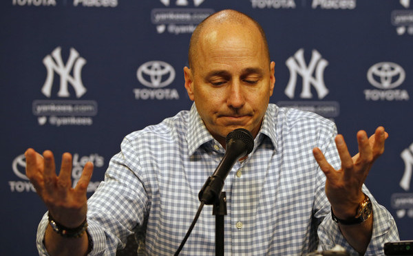 This is what selling did to Cashman last time. (Rich Schultz/Getty)