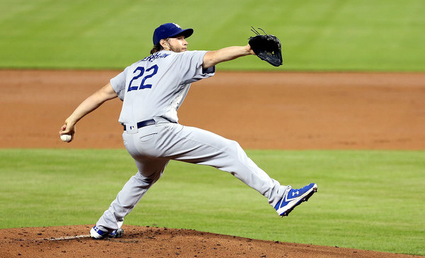 Kershaw. (Marc Serota/Getty)