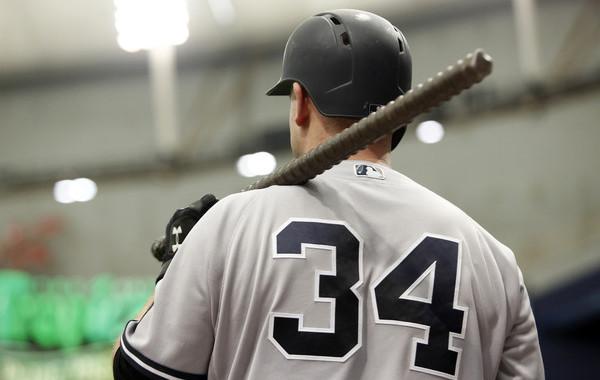 No bats, only rebar. (Brian Blanco/Getty)