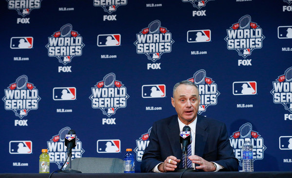 Manfred. (Kyle Rivas/Getty)