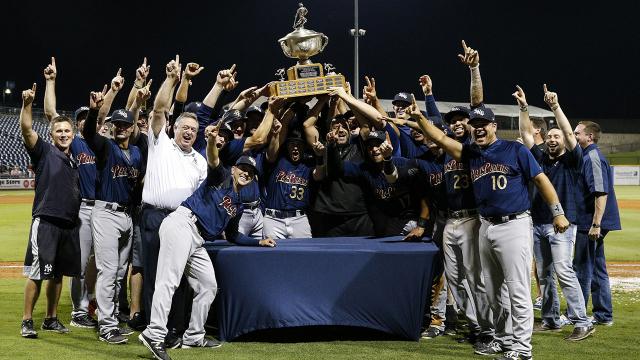 The RailRiders won the 2017 Triple-A championship. (MLB.com)