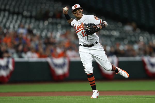 Future Yankee Manny Machado. (Patrick Smith/Getty Images North America)
