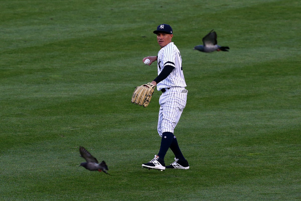 Torreyes, apparently in a John Woo film. (Mike Stobe/Getty Images)