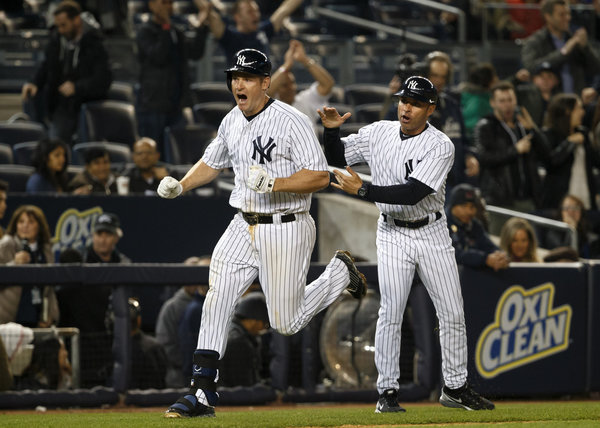 Chase Headley, clutch Yankee. (Photo credit: Richard Perry/The New York Times