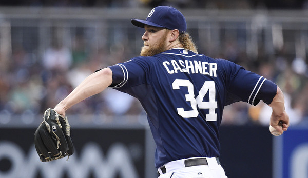 Cashner. (Denis Poroy/Getty)