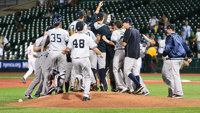 The SI Yanks won their division in 2015. (Robert Pimpsner)