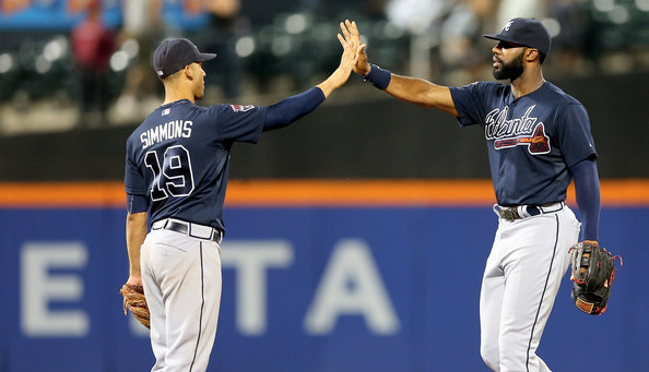 Simmons and Heyward. (Elsa/Getty Images)
